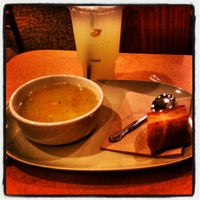 Photo taken at Panera Bread by Justin Y. on 4/16/2012