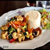 Photo taken at Orkide Thai Restaurang by Dennis T. on 7/16/2012