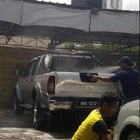 Photo taken at Esso Car Wash- Sri Gombak by Zulme K. on 4/22/2012