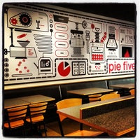 Photo taken at Pie Five Pizza Co. by Steve W. on 5/2/2012