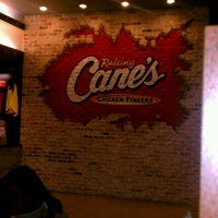 Photo taken at Raising Cane's Chicken Fingers by Chris B. on 3/10/2012