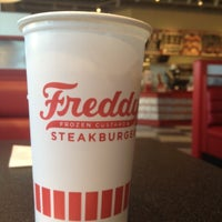 Photo taken at Freddy's Frozen Custard & Steakburgers by Derek N. on 2/16/2012