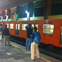 Photo taken at Metro Tacubaya by Pato on 5/12/2012