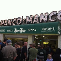 Photo taken at Manco & Manco Pizza by Joseph M. on 7/21/2012
