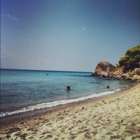 Photo taken at Koviou Beach by Ηλίας on 8/18/2012