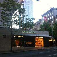 Photo taken at Louis Vuitton Seattle by Antonio F. on 5/15/2012
