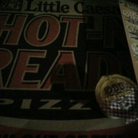 Photo taken at Little Caesar's Pizza by Rigo S. on 3/7/2012