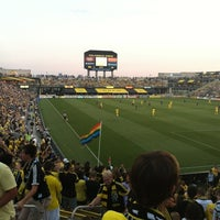 Photo taken at MAPFRE Stadium by Alberto R. on 8/26/2012