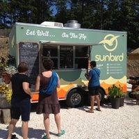 Photo taken at Sunbird Food Truck by Kari B. on 9/13/2012