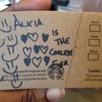 Photo taken at Starbucks by Alicia C. on 2/28/2012