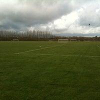 Photo taken at Struer Boldklub by Steen S. on 4/14/2012