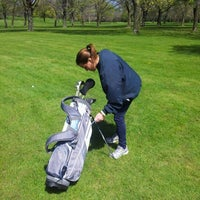 Photo taken at Lincoln Park Golf Course by Kyle C. on 4/27/2012