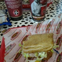 Photo taken at Firehouse Subs by Kim W. on 6/27/2012