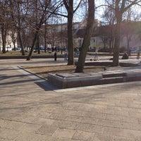 Photo taken at Rūdninkų skveras by Rimas B. on 4/11/2012