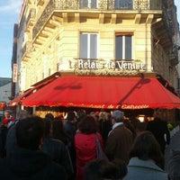 Photo taken at Le Relais de Venise by Zack B. on 4/21/2012