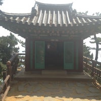 Photo taken at Haesindang Park by 대완 장. on 5/25/2012