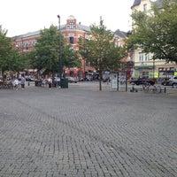 Photo taken at Möllevångstorget by Johan L. on 8/20/2012