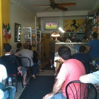 Photo taken at La Casa Del Caffe by Minh N. on 6/10/2012