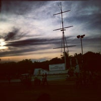 Photo taken at Parque central salina cruz by Andrés P. on 7/19/2012