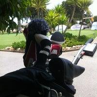 Photo taken at Campo de golf by Ana E. on 6/10/2012