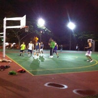 Photo taken at K9 Basketball Court by Tok R. on 2/17/2012