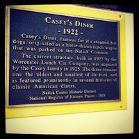 Photo taken at Casey's Diner by Noah D. on 9/8/2012