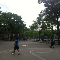 Photo taken at Hoyt Playground by Giovanni L. on 7/14/2012