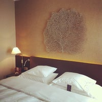 Photo taken at Sheraton Bratislava Hotel by Roberto D. on 7/18/2012