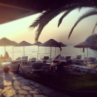 Photo taken at Beach Bar & Restaurant by cem t. on 8/25/2012