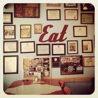 Photo taken at Floyd & Bobo's Bakery & Snack Palace by Lisa K. on 9/1/2012