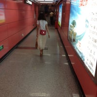 Photo taken at Baiyun Culture Square Metro Station by Yura S. on 6/10/2012
