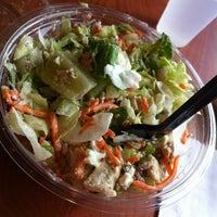 Photo taken at The Big Salad by D Q. on 8/19/2012