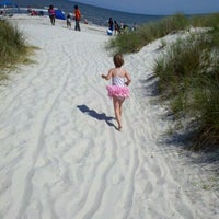 Photo taken at Burkes Beach by Ambra H. on 4/29/2012