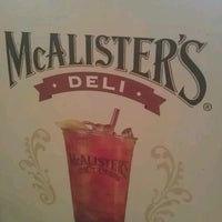 Photo taken at McAlister's Deli by Tina B. a. on 4/10/2012