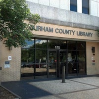 Photo taken at Durham County Library by Luke T. on 8/6/2012