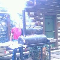 Photo taken at Wilderness Lodge by Jennifer M. on 7/28/2012