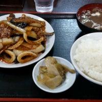 Photo taken at 朱華飯店 小田原店 by Koutaronron on 8/23/2012