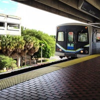 Photo taken at MDT Metrorail - South Miami Station by Joey B. on 8/3/2012
