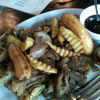 Photo taken at Mely's Garden Restaurant by Nicolas C. on 4/30/2012