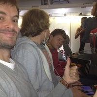 Photo taken at VS043 to Las Vegas LAS by Thomas V. on 6/25/2012