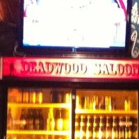 Photo taken at Deadwood Saloon by Haley M. on 5/22/2012