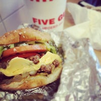 Photo taken at Five Guys by Dave A. on 8/11/2012