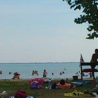 Photo taken at Szigligeti Strand by Sucko on 8/21/2012