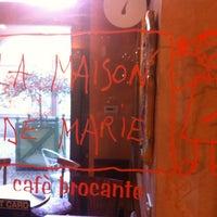 Photo taken at La Maison de Marie by Shadi L. on 3/13/2012