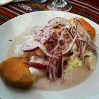 Photo taken at Tasca de Juancho by Luis Enrique B. on 5/1/2012