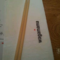 Photo taken at wagamama by Juliana L. on 3/15/2012