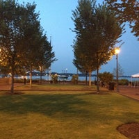 Photo taken at Riverwalk Landing by Penny M. on 7/20/2012