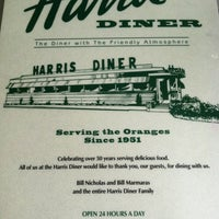 Photo taken at Harris Diner by Pete C. on 9/5/2012