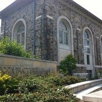 Photo taken at Enoch Pratt Free Library - Roland Park Branch by Bing F. on 7/9/2012