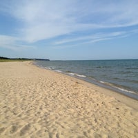Photo taken at Saugatuck Dunes State Park by Angela S. on 7/21/2012